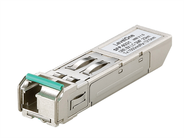 Gigabit Single-mode Bi-directional SFP (20km, TX/RX 1550/1310nm)
