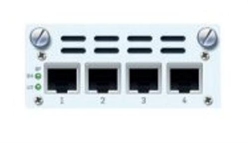 4 port GbE copper - 2 Bypass groups FleXi Port module (for SG/XG 2xx/3xx/4xx only),