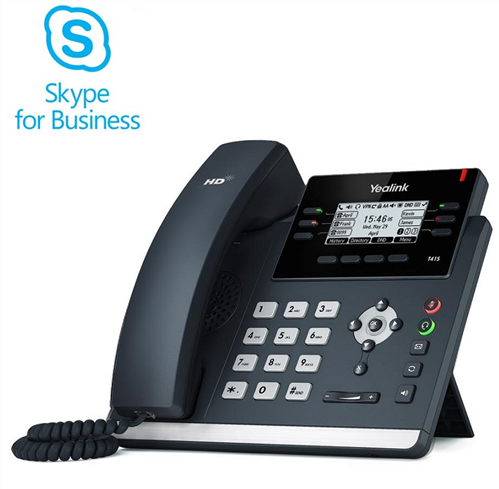 Skype for Business Edition IP Phone, SIP-T41S