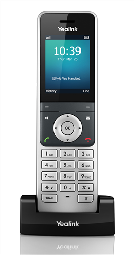 DECT Phone for use with SIP-W56P or W60B SIP Base Station