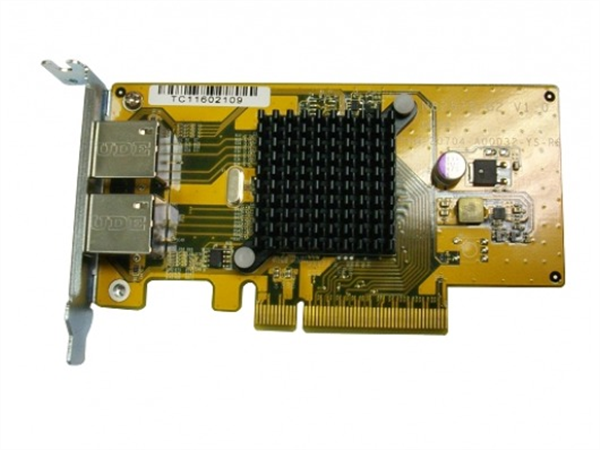 2-Port Gigabit Ethernet Expansion Card for QNAP TS-X79 Rack-mount NAS models