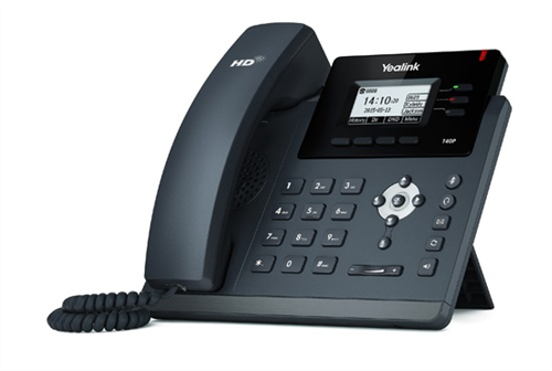 IP Phone, Dual GigE, 2.3in. LCD backlit screen, USB Port, PoE