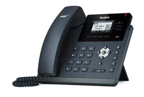 IP Phone, Dual GigE, 2.3in. LCD backlit screen, PoE