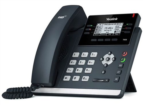 IP Phone, Dual Gig. Ethernet, Graphical LCD, PoE (AC Adapter optional)