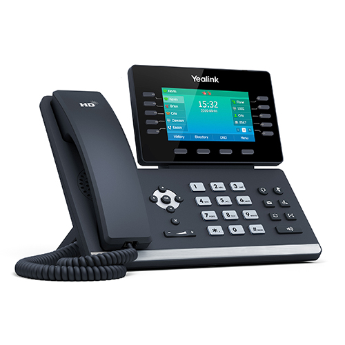 IP Phone, Colour Touch Screen, Dual GigE, Bluetooth, USB 2.0, PoE