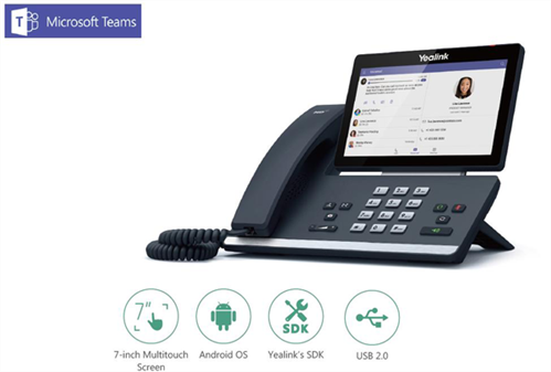 T56A Video Phone, MS Teams Edition