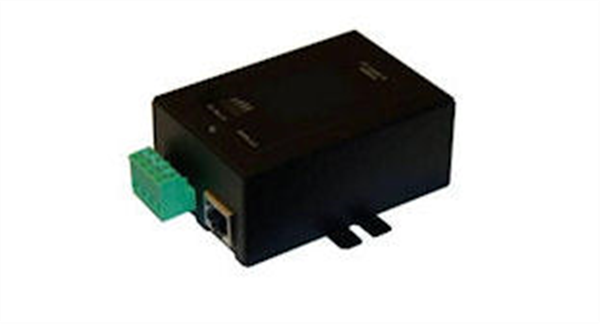 Gigabit PoE Injector, 48VDC 802.3af Out, 9-36V DC Input, Metal Case