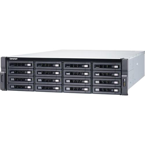 16-Bay Rackmount NAS, RX-421ND quad-core 2.1 GHz CPU, 8GB RAM