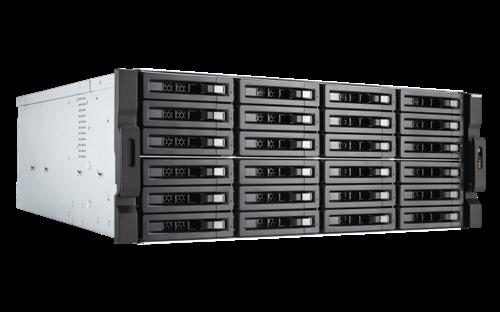 24-Bay NAS, Xeon E-2136 6-core 3.3 GHz CPU, 16GB DDR4 ECC RAM