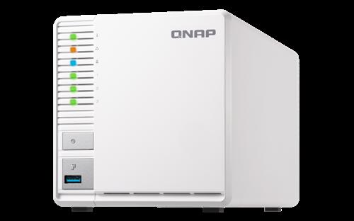 3-Bay NAS with RAID 5 capability