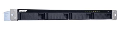 4-Bay (short-depth) Rackmount NAS, Quad-Core 1.7 GHz CPU, 2GB RAM