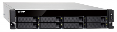 8-Bay Rackmount NAS, AMD RX-421ND 4-core 2.1GHz CPU, 8GB RAM, Dual PSU