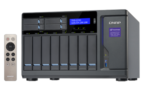 12-Bay TurboNAS, SATA 6G, Core™ i7-6700 3.4 GHz, 32GB RAM