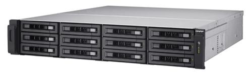 12-Bay TurboNAS, SAS 12G, SAS/SATA 6G, Xeon E3-1246 v2 3.5GHz, 8GB ECC RAM