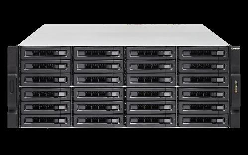 24-Bay NAS, SAS 12G, SAS/SATA 6G, Xeon E3-1246 v2 3.5GHz, 16GB RAM