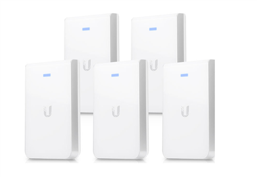 UniFi In-Wall Access Point Enterprise Wi-Fi System (5-Pack)
