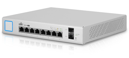 8-Port Gigabit Ethernet Desktop PoE Switch (150W PoE), 2 SFP Ports