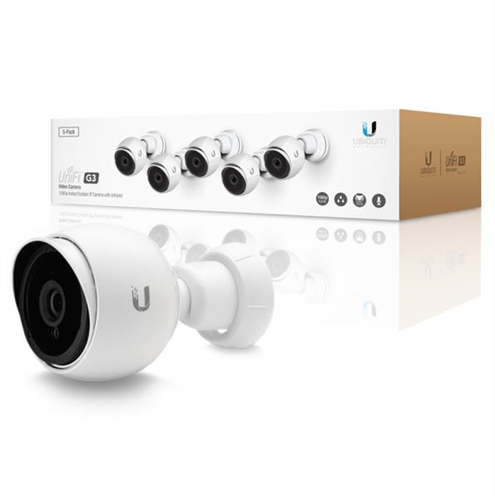 UniFi UVC G3 1080p Video Camera 5 Pack