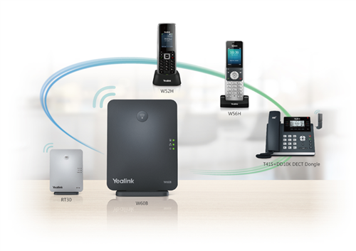 DECT Deskphone Solution, Deskphone and DECT Station