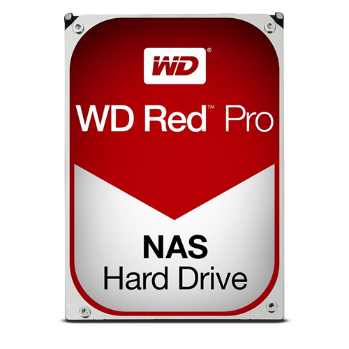 4TB Red Pro 7200RPM 128MB SATA 6 Gb/s for Professional NAS Application