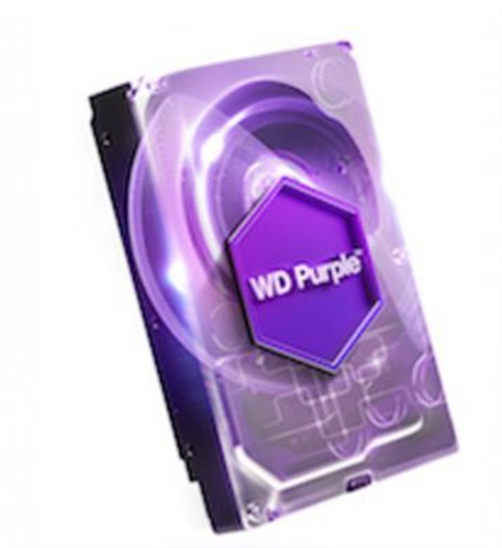 6TB Purple SATA 6GB/S Hard Disk for Video Surveillance Applications