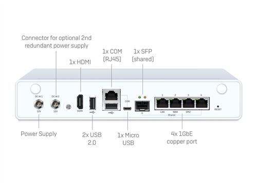 XG 115 Rev.3 Security Appliance