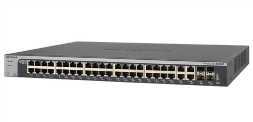 48-port 10GigE Smart Managed Pro Switch, with 4 x SFP+ Ports