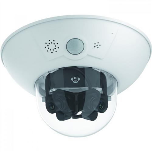 D16 Dome IP Camera 2x 6MP, Panorama 180 degree (Night)