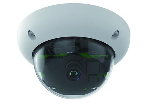 Indoor/Outdoor 6 Megapixel Dome IP Camera, 45 degree lens, Night