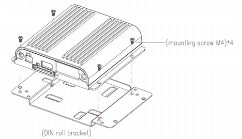 din rail mounting bracket for cradlepoint routers