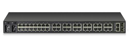 16-Port Serial and 24-Port Ethernet, Dual AC, V.92 modem
