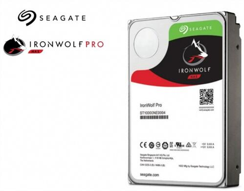 IronWolf Pro 8TB Hard Disk Drive for NAS, with free 2 yr data recovery