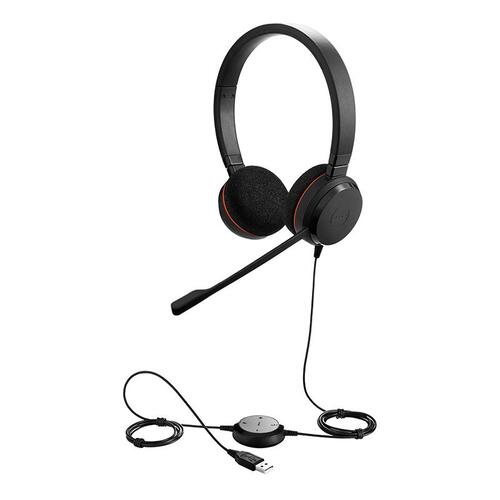 Evolve 20 professional USB (Wired) Stereo Headset, UC