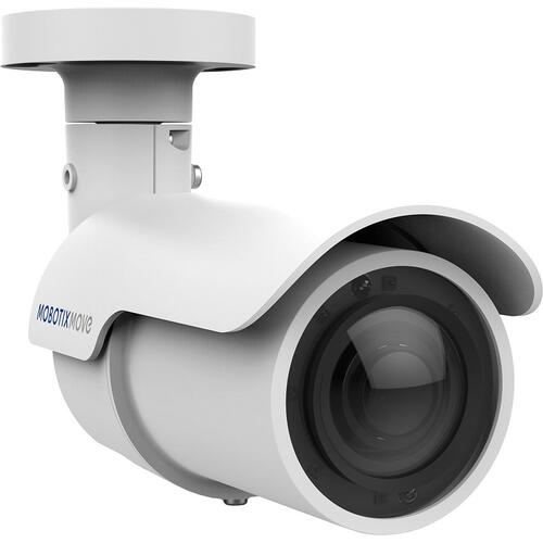 Outdoor Day/Night Bullet Camera, Varifocal Lens, Infra-Red LED (40m), 4MP