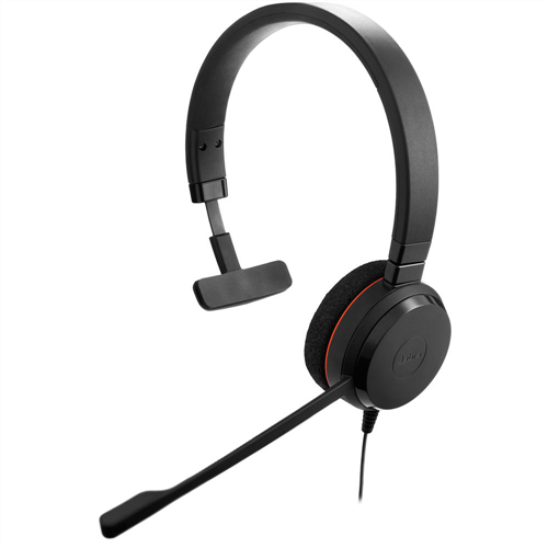 Evolve 20 professional USB (Wired) Monaural Headset, UC