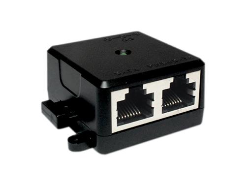 PoE Injector, Gigabit Ethernet, PoE+, 30W, Compact Size