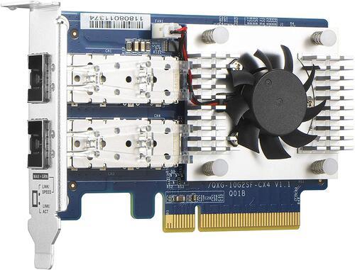 Dual-port 10 GbE SFP+ network expansion card, SFF, PCI-E GEN3 X8