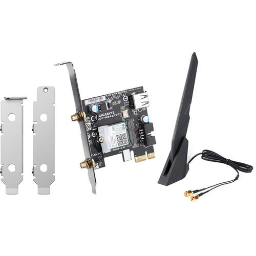 Dual-Band Wi-Fi 6 PCIe Network Card for QNAP NAS, PC and Mac