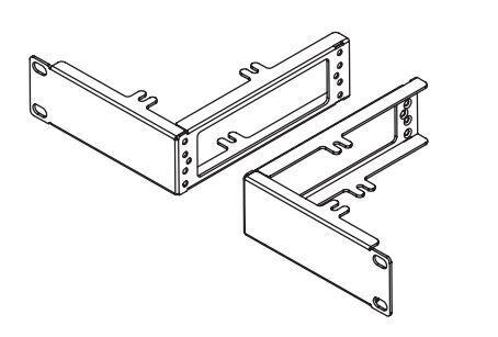 XG 125, XG 135 Rev.3 series rackmount kit