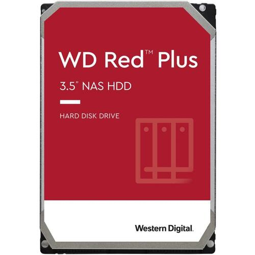 10TB Red Plus SATA 6 Gb/s Hard Disk for NAS Appliances