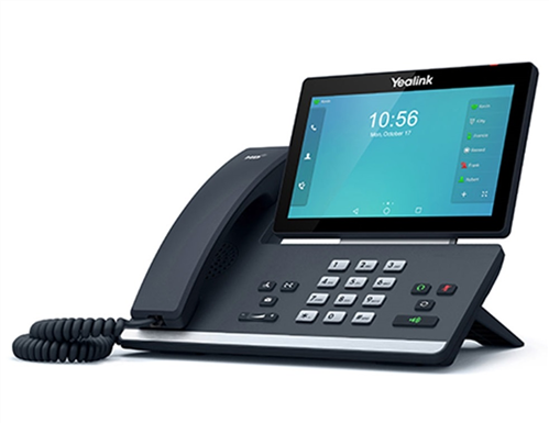 IP Phone, Colour Touch Screen, Dual GigE, Bluetooth, WiFi, USB 2.0
