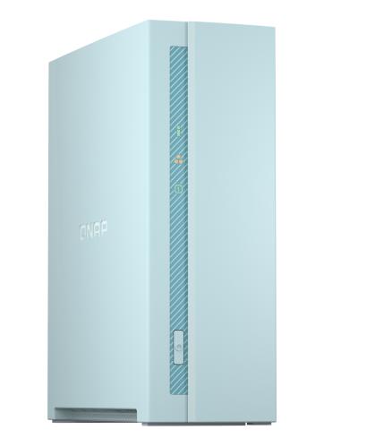 1-Bay NAS, Quad-Core 1.4GHz CPU, 1GB RAM, Gigabit Ethernet