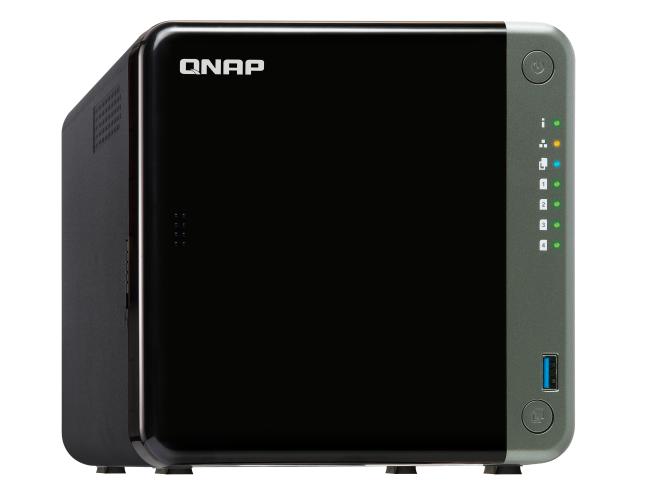 4-Bay NAS, Intel Quad-core 2.0 GHz CPU, 8GB RAM, 2.5GbE, PCI Expansion