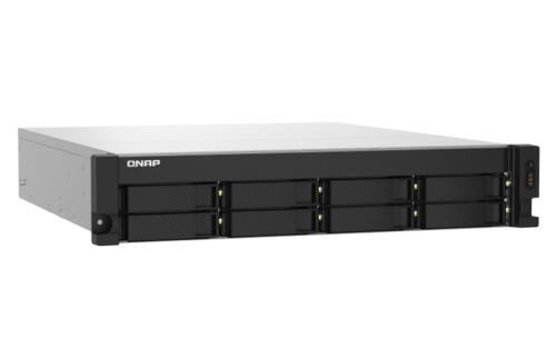 8-Bay Quad-core 1.7GHz rackmount NAS, dual 10GbE SFP+, dual 2.5GbE