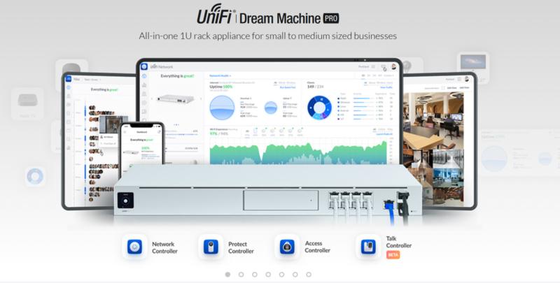 UniFi Dream Machine Pro, All-in-One Enterprise Network Appliance