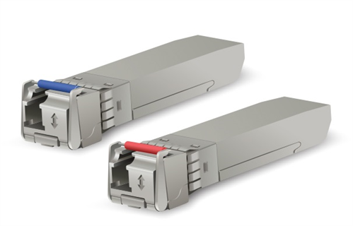 Pair of 10Gbps Bi-Directional Single-mode SFP+ Modules, 10km Range