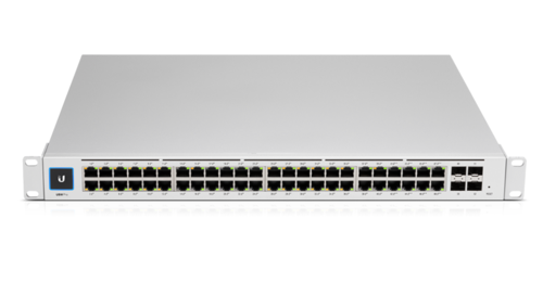 48-Port UniFi Pro Gigabit Managed PoE+ Switch, Gen2