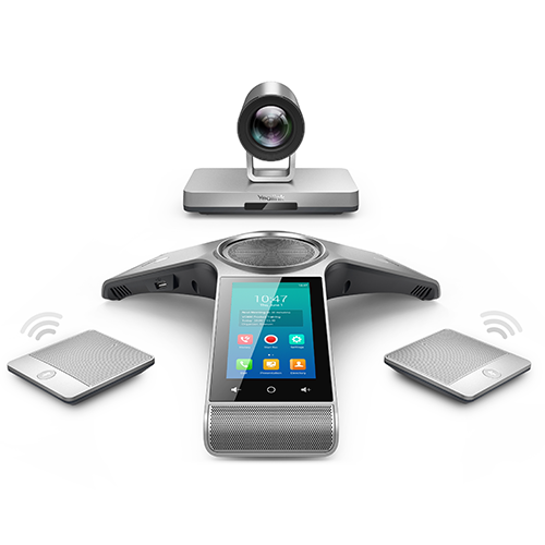 Video Conferencing System Kit with Wireless Expansion Mic.