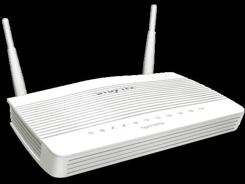 VDSL/ADSL/UFB Router, 1 GbE WAN/LAN, 3 GbE LAN, 802.11ac WiFi, 2 FXS