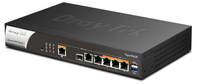 Dual Gigabit WAN Secure VPN Router with PoE
